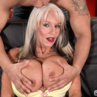 Sixty + Milf Sally D'Angelo Gets Her Booty Fucked