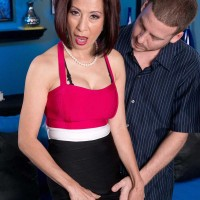 Asian Nanna Kim Anh Gets Her Butt Stuffed With Cock