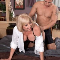 Mature MILF Scarlet Andrews Is A Sweet sixty Plus Babe