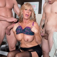 Over Sixty Milf Phoenix Skye Gets Her Ass Packed With Dick